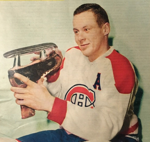 Tom Johnson 1958 Montreal Canadiens