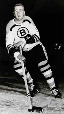 Tom Williams 1966 Boston Bruins