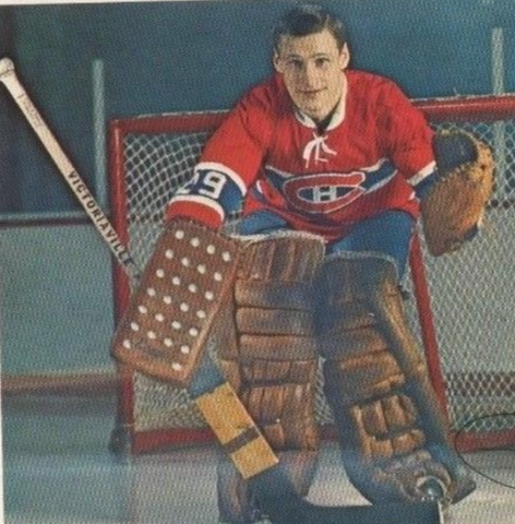 Phil Myre 1970 Montreal Canadiens