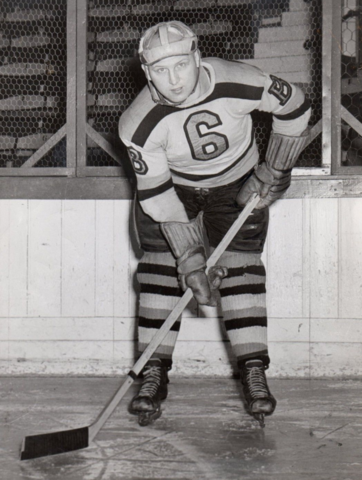 Jack Crawford 1940 Boston Bruins