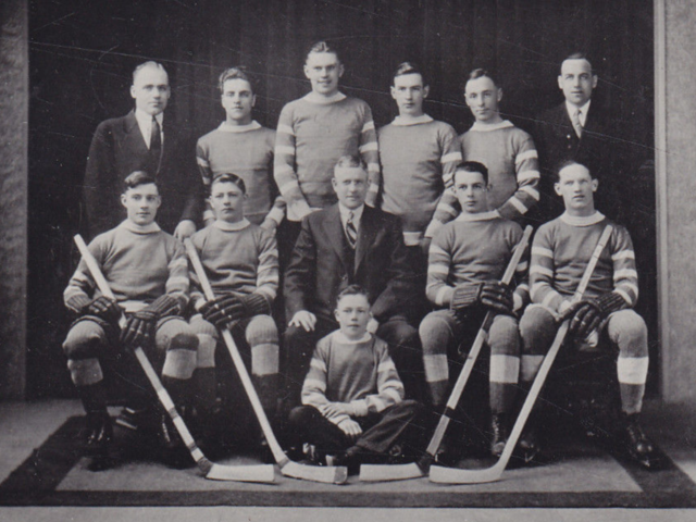 Pembroke Junior Hockey Club 1929 Upper, Lower & Central Ottawa Valley Champions