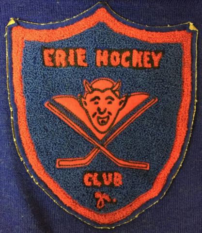 Erie Hockey Club Patch 1930s