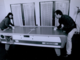 Roseanne Barr & Tom Arnold Playing Air Hockey 1990s