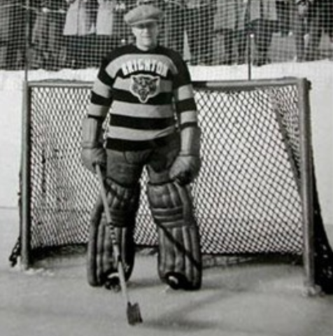 Gib Hutchinson Brighton Tigers Goaltender