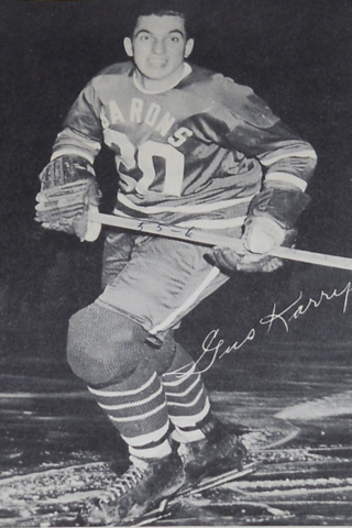 Gus Karrys 1955 Cleveland Barons