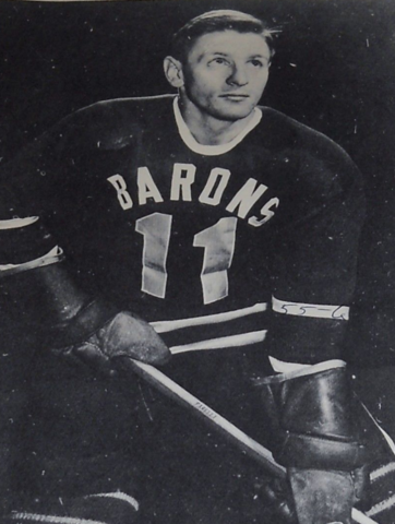 Jerry Prince 1955 Cleveland Barons