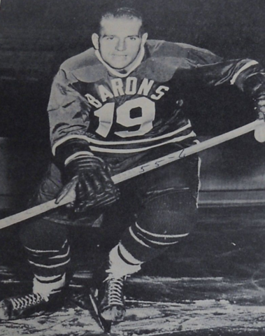 Cal Stearns 1955 Cleveland Barons