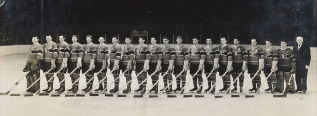 Montreal Canadiens Team Photo 1947