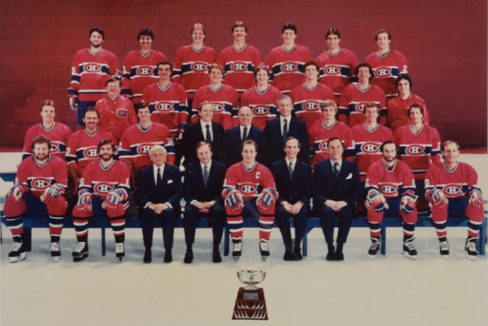Montreal Canadiens Team Photo 1982 Club De Hockey Canadien