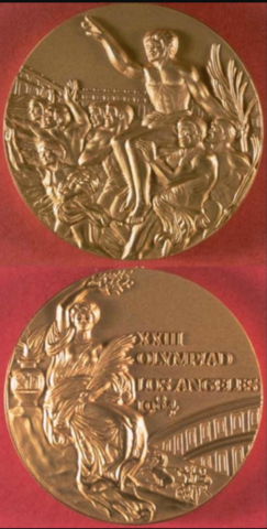 1984 Summer Olympics Gold Medal from Los Angeles, California