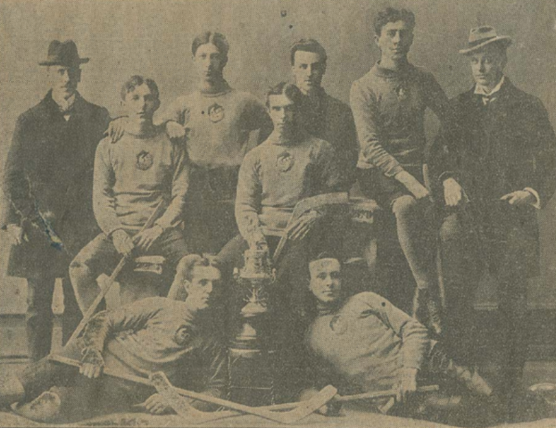 Halifax Crescents 1899 Nova Scotia Intermediate Hockey Champions