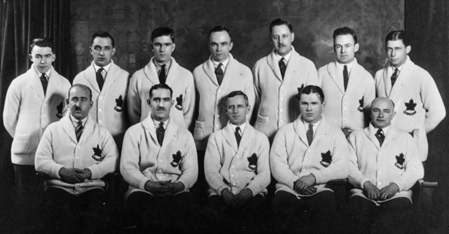 Toronto Granites / Team Canada 1924 Winter Olympic Ice Hockey Champions