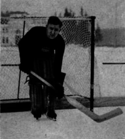 "Alphonse ""Frenchy"" Lacroix 1924 United States Olympic Hockey Team Goaltender"