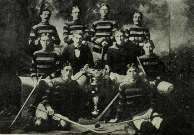 Queen's University 1899 Cosby Cup Champions  1899 J Ross Robertson Cup Champions