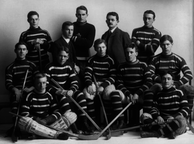 McGill University Hockey Team 1904
