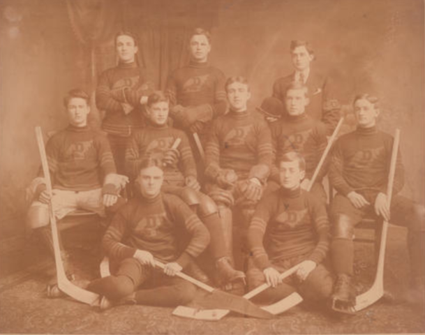 Dalhousie University Hockey Team 1909 Halifax, Nova Scotia