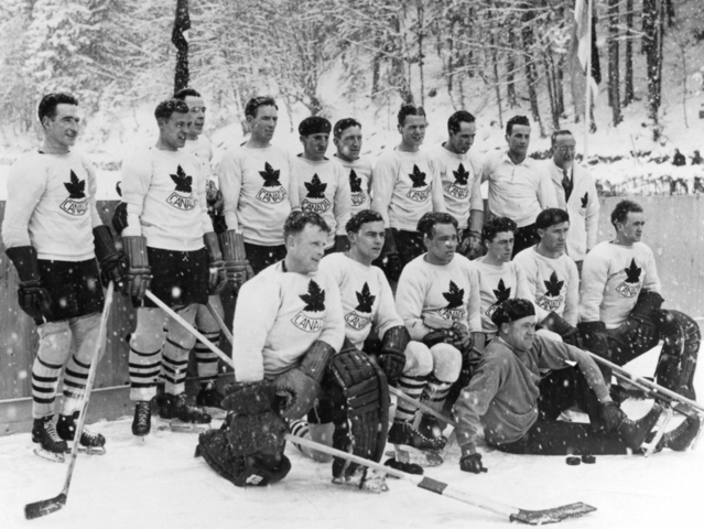 Team Canada / Canadian Olympic Hockey Team at the 1936 Winter Olympics