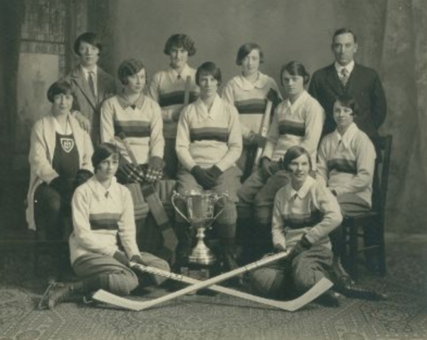 Queen's University Women's Hockey Team 1926 Intercollegiate Hockey Champions