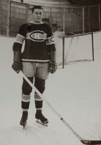 "Alfred ""Pit"" Lépine 1932 Montreal Canadiens"