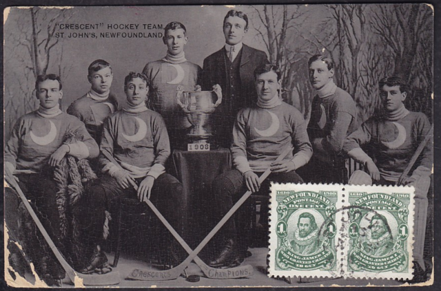 Crescent Hockey Team 1908 Boyle Trophy Champions