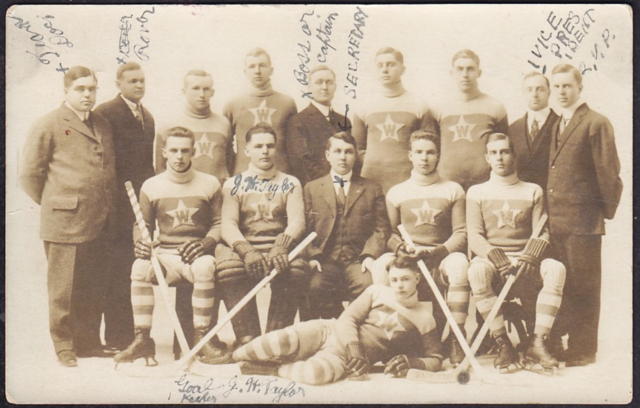 Woodstock Stars Hockey Team - circa 1910