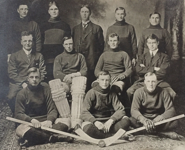 Yorkton Hockey Club 1912 North Central Saskatchewan Champions