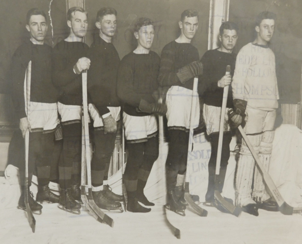 Princeton Tigers Hockey Team 1916