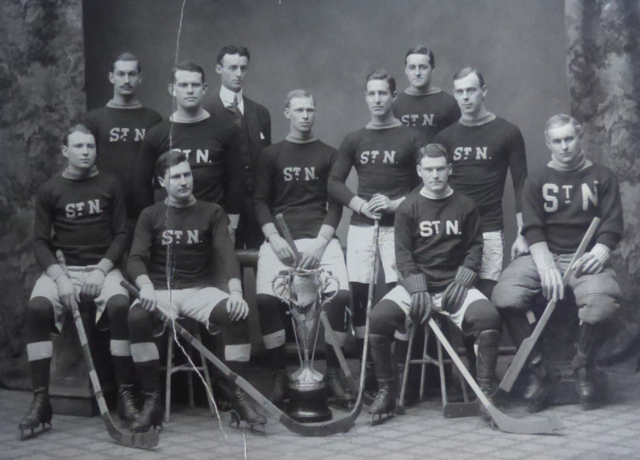 St. Nicholas Hockey Club 1907 American Amateur Hockey League Champions