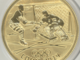 Gold Hockey Coin 2014 Winter Olympics - Russia 50 Roubles
