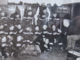 Detroit Red Wings Team getting playoff pre-game talk in their Dressing Room 1936