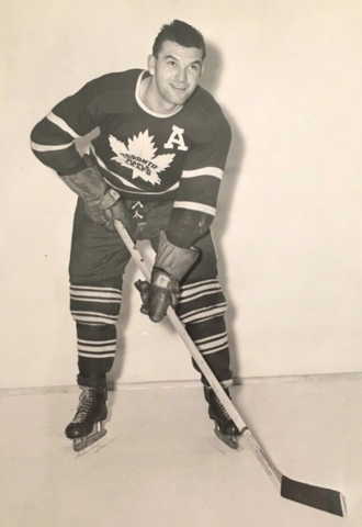 "Harry ""Whipper"" Watson 1949 Toronto Maple Leafs"