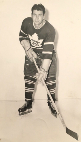 Vic Lynn 1949 Toronto Maple Leafs