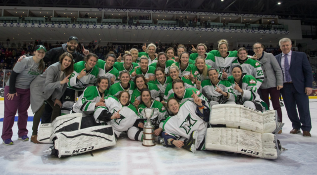 Markham Thunder 2018 Clarkson Cup Champions
