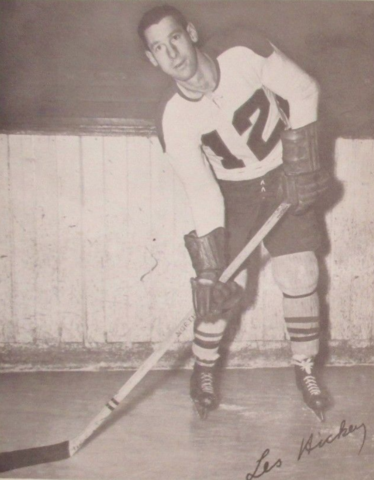 Les Hickey 1950 Buffalo Bisons
