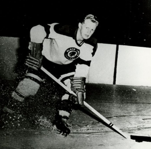 Ray Timgren 1954 Chicago Black Hawks