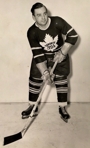 Bill Juzda 1949 Toronto Maple Leafs