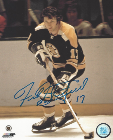 Fred Stanfield 1972 Boston Bruins