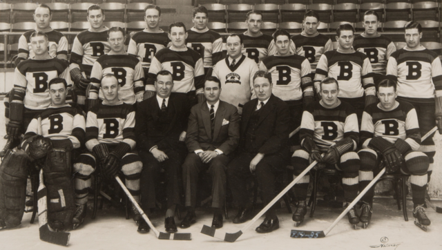 Boston Bruins Team Photo 1934