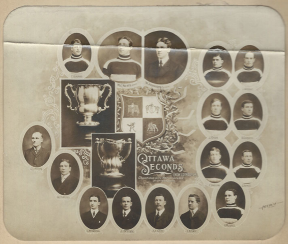 Ottawa Seconds / Ottawa II 1908 Ottawa City Hockey League Champions
