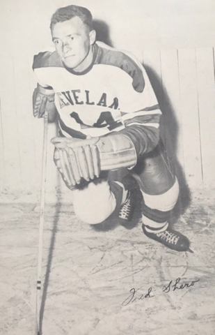 Fred Shero 1952 Cleveland Barons