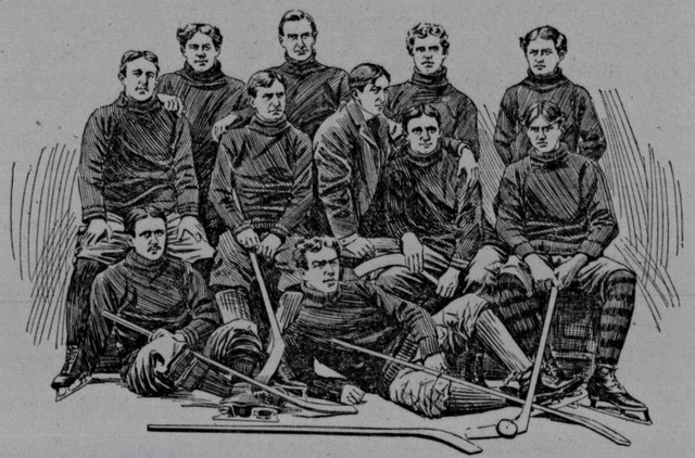 University of Pennsylvania Hockey 1897