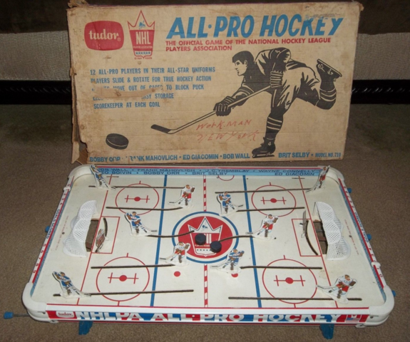 Tudor All Pro Table Top Hockey Game 1968