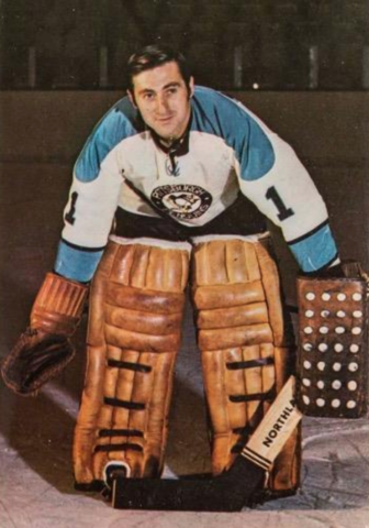 Roy Edwards 1971 Pittsburgh Penguins