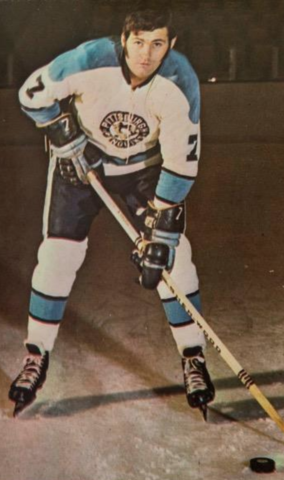 Bryan Hextall Jr. 1971 Pittsburgh Penguins