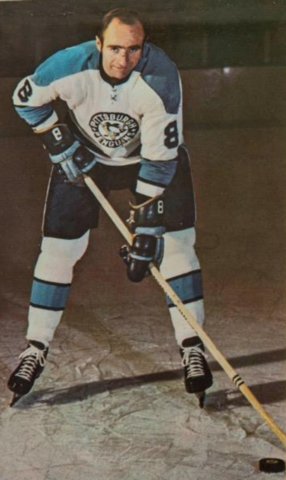 Val Fonteyne 1971 Pittsburgh Penguins