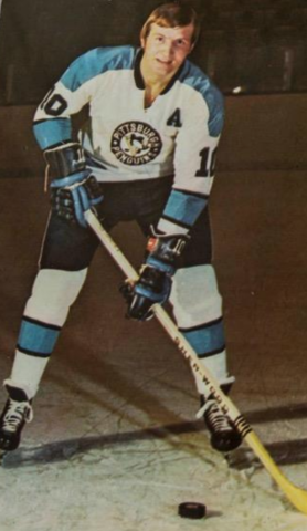 Keith McCreary 1971 Pittsburgh Penguins