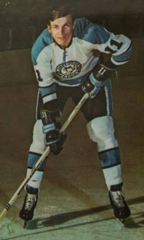 Nick Harbaruk 1971 Pittsburgh Penguins
