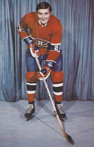 Pete Mahovlich 1972 Montreal Canadiens