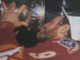Lanny McDonald drinks from The Stanley Cup 1989