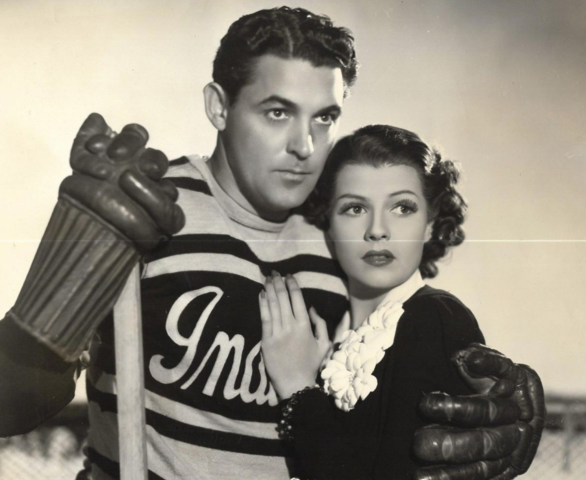 Charles Quigley & Rita Hayworth in The Game That Kills 1937 Movie